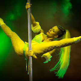 Pole Dance by Csaba Kabátka - Sports & Fitness Other Sports ( amts, amts2019, sexy, poledance, pole, carstyling.hu, hungary, bcs, dollshow, legs, bcslight, hungexpo, dance, open )