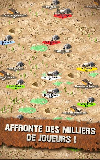 Code Triche Crazy Tribes - MMO de stratu00e9gie apocalyptique APK MOD screenshots 3