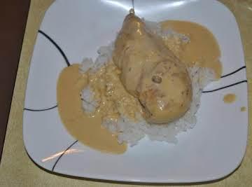 Chicken w/Dijon Cream Sauce