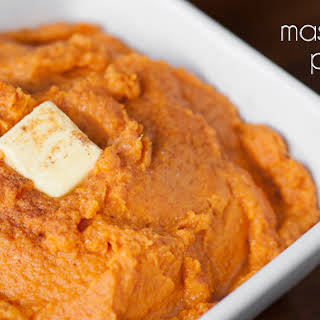 Mashed Sweet Potatoes.