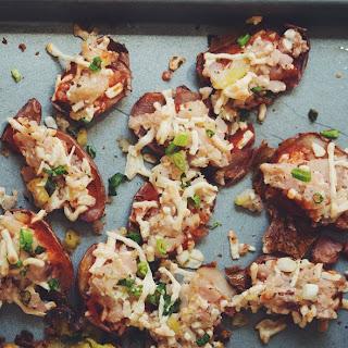 Vegan Potato Pizza Skins →.