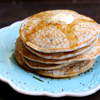 Fluffy Gluten Free Vanilla Chia Seed Pancakes