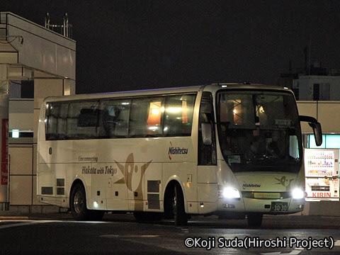西鉄「はかた号」 0001 バスタ新宿入線_01