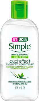Simple Kind to Skin Dual Effect Eye Make-Up Remover - 125ml