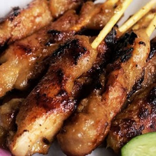 Homemade Satay