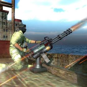 Современный боевой корабль - FPS Shooter Commando