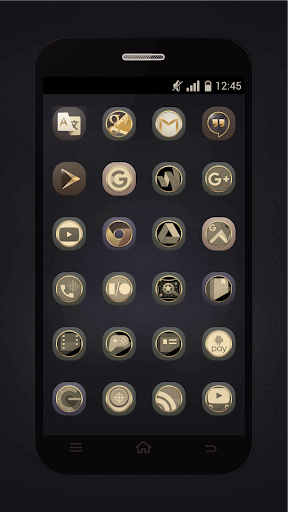 Gold Icons Pro -Cool Icon Pack  screenshots 2