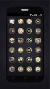Gold Icons Pro -Cool Icon Pack Screenshot