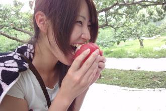 Photo: 食べて 笑顔