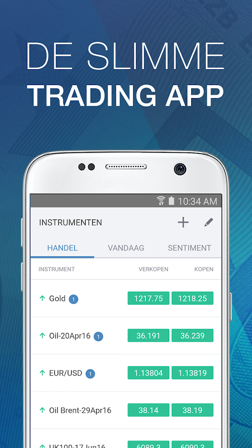 Forex trading demo app
