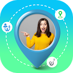 Family & Friends Tracker with GPS Navigation Icon