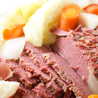 Instant Pot Corned Beef and Cabbage.