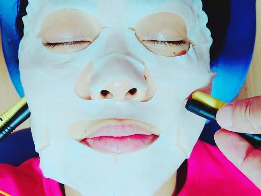 美容マスクと美容鍉鍼(ていしん)の紹介