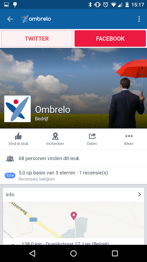 Ombrelo- screenshot