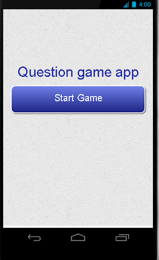 Game Question App