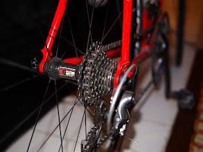 Photo: Nine-Speed Shimano and Fulcrum Wheels