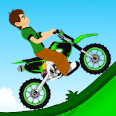 Ben Motorcycle Hill Climb Game