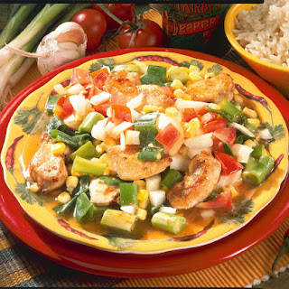 Chicken And Spring Vegetable Stir-fry.