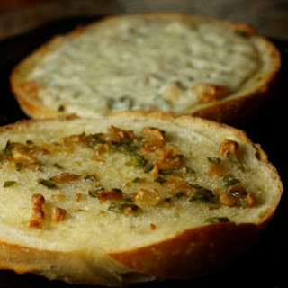 Jean's Spicy Garlic Bread
