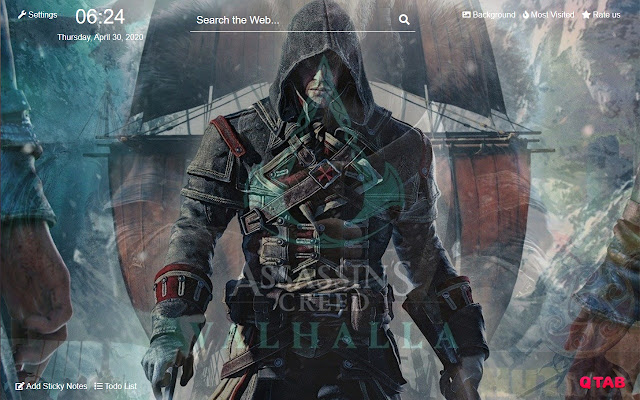 Assassin S Creed Valhalla Wallpapers New Tab