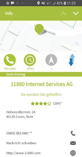 11880.com - Telefonbuch & Anruferkennung 8.4.0 screenshots 4