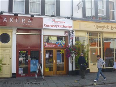 No  Currency Exchange Winchester  C B Shops Amenities  C B Bureaux De Change
