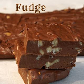 Walnut Fudge.