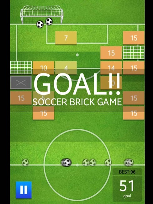 #9. Soccer Brick Game (Android)