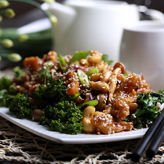 Sweet and Sour Crispy Mock Chicken Stir Fry