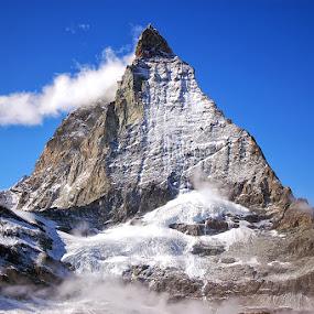 the Matterhorn by Phattana Sangsawang - Travel Locations Landmarks