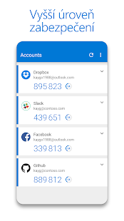 Microsoft Authenticator Screenshot