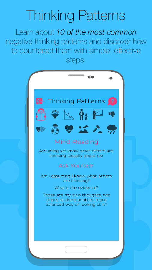 What's Up? - Mental Health App: captura de pantalla