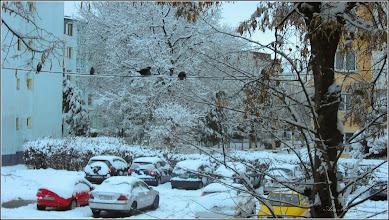 Photo: Turda, Calea Victoriei, parcare Mr.1 - 2018.12.16