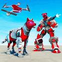 Dog Robot Transform: Real Drone Robot War icon