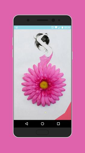 女孩最小的艺术图片