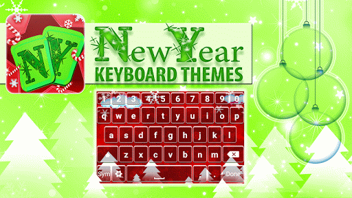 New Year Keyboard Themes