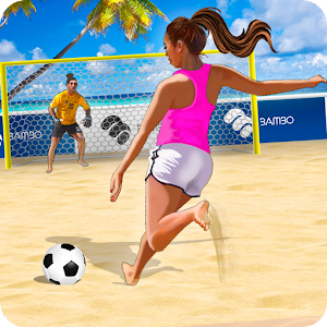 Shoot Goal - Girls Beach Soccer: summer freekick