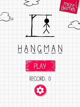 Hangman in English