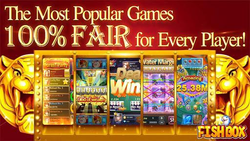 Fish Box - Casino Slots Poker & Fishing Games 10.2.22.0 screenshots 1