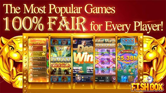 Fish Box – Casino Slots Poker & Fishing Games 1
