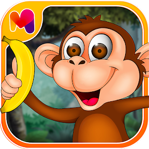 Jungle Monkey - Banana Boom Icon