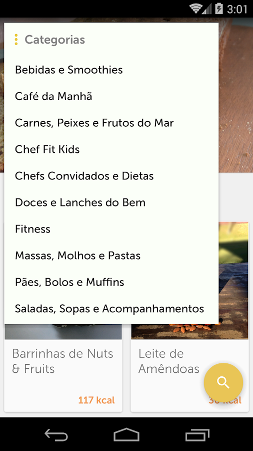 ChefFit - Chef Fit: captura de tela