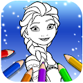 Ice Princess Coloring Pages APK
