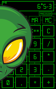 Alien Calculator PRO Screenshot