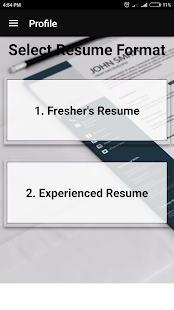 free resume builder pdf formats cv maker templates screenshot thumbnail - Pdf Format Resume