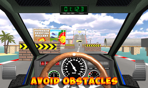 Racing stunts by car. Extreme racing. 3.6 screenshots 6