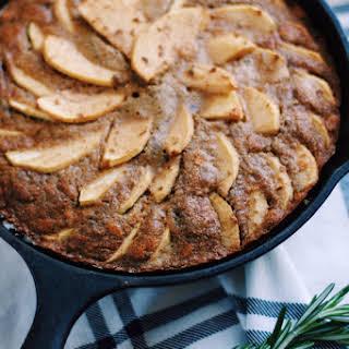 Rustic Buckwheat Apple Cake.