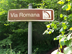 Photo: 1e Dag, donderdag 16 juli 2009 Duiven - Meerbush ,Dag afstand: 105 Totaal gereden : 106 km. De Romeinse weg