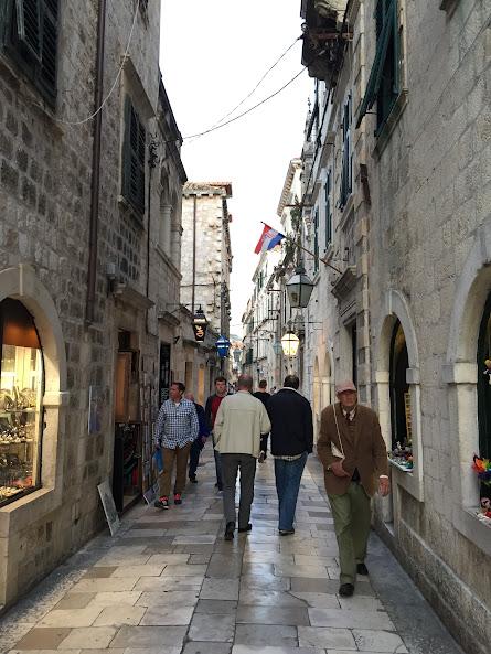 ドゥブロヴニク旧市街 路地裏