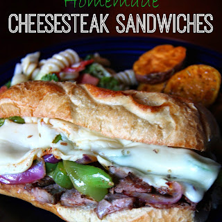 Homemade Cheesesteak Sandwiches